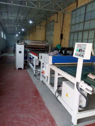 PVC大理石纹热转印UV上光生产线